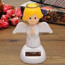 Solar Powered Flip Flap Dance Dancing Toys Bobble Angel Swinging Ornaments Decor
