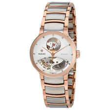 Rado Centrix Open Heart Automatic Silver Skeleton Dial Ladies Watch R30248012