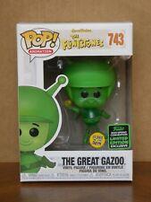 Pop! The Flintstones THE GREAT GAZOO Glow w/ ECCC Shared Sticker