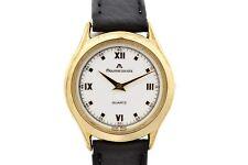 Vintage Maurice Lacroix 32175 Gold Plated Quartz Ladies Watch 1566