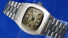Vintage Ladies Union Soleure Automatic Watch 21 jewel NOS Old Stock Circa 1970s