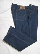 ~>  WRANGLER RUGGED WEAR  * NEW *  Mens  THERMAL  Blue Jeans ~ Sz 44 x 30 ~ NWOT