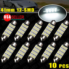 10x 42MM LED 12SMD Courtesy Interior Light Bulb Festoon Dome Lamp 6000K White US