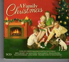 (FD495) A Family Christmas, 60 tracks various artists - 3 CDs - 2013