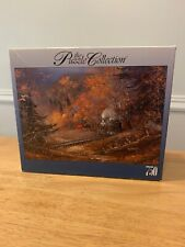 The Puzzle Collection 750 Piece Train #10  97325B  Woods Fall Autumn Forest NEW