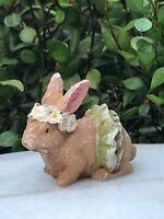 Bunny Hutch with Bunny JE 22800 Miniature Fairy Garden