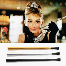 Cigarette Holder - Audrey Hepburn Breakfast at Tiffany's, Extendable (Silver)