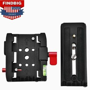 NEW P200 Quick Release Plate Clamp QR Adapter for Manfrotto 577 501 500AH 701HDV
