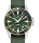 Hamilton Khaki Navy Scuba Auto Green Nato Strap Men's Watch H82375961
