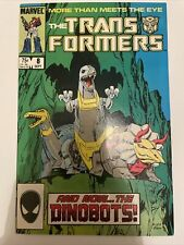 Transformers #8 - Marvel Comics - 1st Appearance of the Dinobots