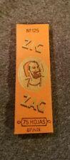 Vintage Zig Zag No. 125 Cigarette Rolling Paper 1960s RARE !