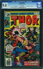 Thor #249 CGC 9.8 1979 Mangog Cameo! Avengers! White Pages! G11 709 1 cm