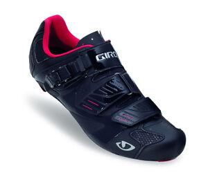 GIRO Rennradschuh Factor schwarz mit Vollcarbonsohle ultraleicht Neu & OVP