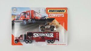 2020 Matchbox Convoys Lonestar Cab & Box Trailer 1972 Ford Bronco 4x4