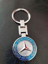 Llavero Mercedes, logotipo, emblema, excelente calidad, #101
