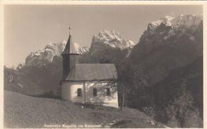 Antonius Kapelle im Kaisertal ngl F1899