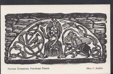 Herefordshire Postcard - Norman Tympanum, Fownhope Church  RS8065