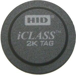 HID iCLASS 2K SECURITY TAG, PART NUMBER: 2060PKSMN