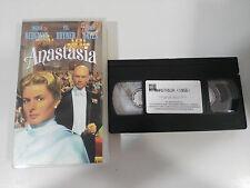 ANASTASIA VHS TAPE COLECCIONISTA INGRID BERGMAN YUL BRINER HELEN HAYES