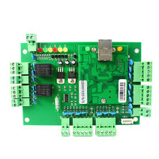 TCP/IP 12V 3A Generic Network Entry Access Controller Panel For 2 Door 4 Readers