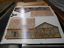 Vintage 1987 John Deere Cardboard Blacksmith Shop Toy NEW MIP Mint In Package
