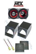 MTX Kit 2 casse per FIAT PANDA 1 SERIE >2003 con ADATTATORI E SUPPORTI 10cm AUTO