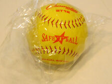"Champion Sports Safety Softball St12 SafeTball Official sponge core 12"" Nos Nwt"