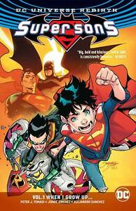 Super Sons Rebirth TPB Volume 1 When I Grow Up Softcover Graphic Novel