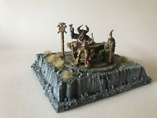 Warhammer Fantasy Dwarfs Thorek Ironbrow and the Anvil of Doom - forge
