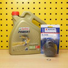 Suzuki Gsx-R 600 750 1000 1300 Aceite Filtro Original Castrol Power 1 Racing