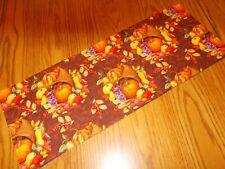 New Fall harvest fruit decor MINI table topper Tank Topper handmade cornucopia