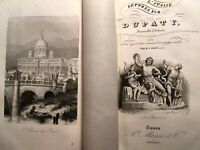 1845 LETTRES sur l' ITALIE en 1785 VOYAGE MONUMENTS PATRIMOINE CARTONNAGE LIVRE