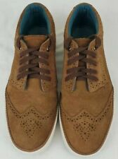 Ted Baker London Byran Mens Brown Suede Wingtip Brogue Fashion Shoes Size 11