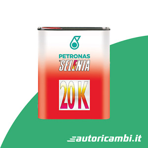 Olio motore Selenia 20K 10W40 (ACEA A3 / API SL/CF) Petronas 1 Litro