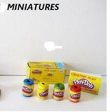 PLAYDOUGH  kit  DISPLAY DOLLS HOUSE MINIATURE