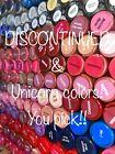 LipSense Lipstick OR glossy gloss FULL SIZE LIMITED EDITION RETIRED IRVINE