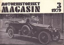 Motorhistoriskt Magasin Swedish Car Magazine 3 1979 Ford Junior  032717nonDBE