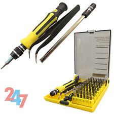 Tool Tweezer Mobile Phone 45 in 1 Precision Torx Hex Screwdriver Repair E080