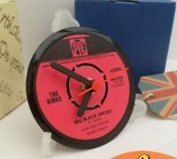*new* THE KINKS VINYL RECORD SINGLE CLOCK - An actual Record Centre