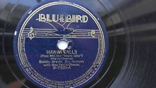 Bobby Breen 78rpm Single 10-inch Bluebird Records #B-7320 with BOY SOPRANO!