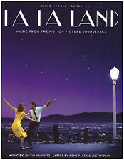 La La Land 2017 Movie Piano Sheet Music Lyrics & Guitar Chords ~ City of Stars