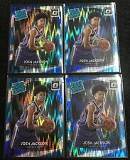 ( 4x ) JOSH JACKSON RC 2017-18 DONRUSS OPTIC FLASH PRIZM ROOKIE CARD LOT