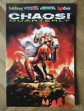 CHAOS ! QUARTERLY #2 VERY FINE (W12)