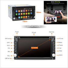 """Android 7.1 HD 2Din 6.2"""" Auto Lecteur DVD Radio GPS Stereo WiFi 3G/4G BT RDS OBD"""