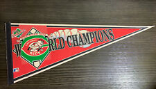 Cincinnati Reds 1990 World Series Champions Licensed Official Pennant