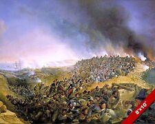 SIEGE BATTLE OF VARMA PAINTING CRUSADE OTTOMAN WAR ART REAL CANVAS PRINT