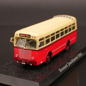 Atlas 1:72 Bus Collection Bressel Jonckheere 1957 Diecast Model Car