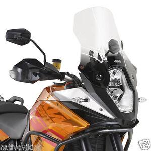 KTM 1190 Adventure R 13 screen HIGHER TOURING windscreen GIVI windshield D7703ST
