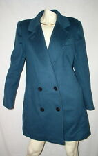 Unique VINTAGE blazer COAT PINPOINT FASHIONS USA MADE  WOOL SIZE 14