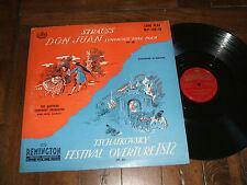 Strauss - Don Juan, Tschaikovsky - Festival 1812 Overture 1951 LP Remington VG+